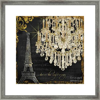 Dance The Night Away 1 Framed Print by Audrey Jeanne Roberts