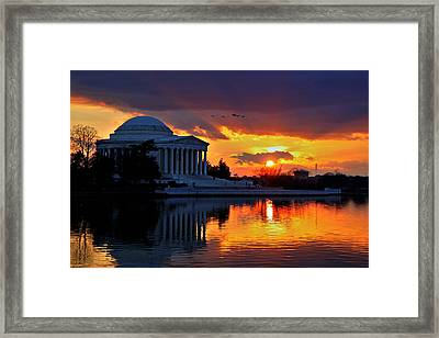 Dance The Tides Framed Print by Mitch Cat