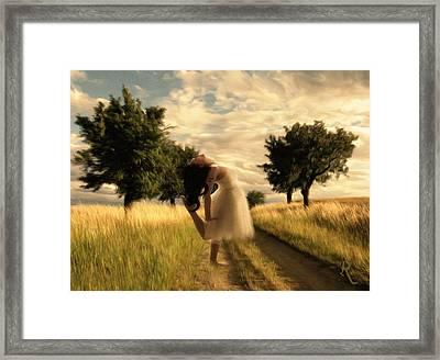 Dance Until Dawn Framed Print by Georgiana Romanovna