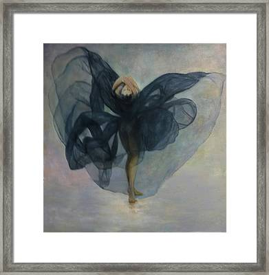 Dance With A Black Shawl Framed Print