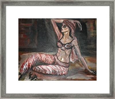 Danced All Nite Framed Print by Laura Fatta