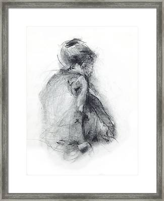 Dancer - Tender Framed Print by Christopher Williams