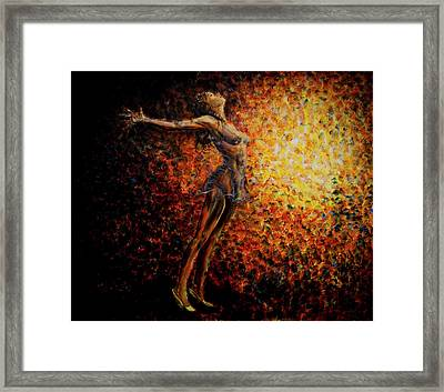 Dancer 03 Framed Print