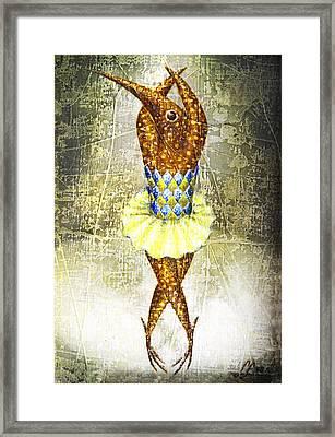 Dancer 2  Framed Print