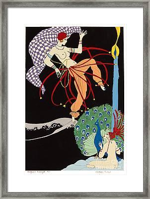 Dancer Framed Print by Carolynn Fischel
