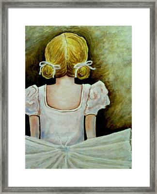 Framed Print featuring the painting Dancer by Dan Wagner