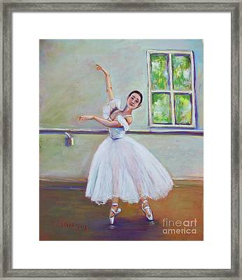 Dancer Framed Print by Joyce A Guariglia