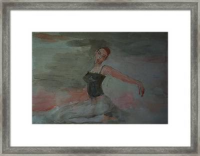 Dancer Framed Print by Liliana Andrei