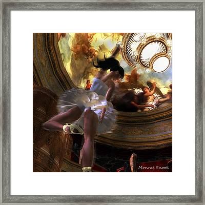 Dancer Framed Print by Monroe Snook