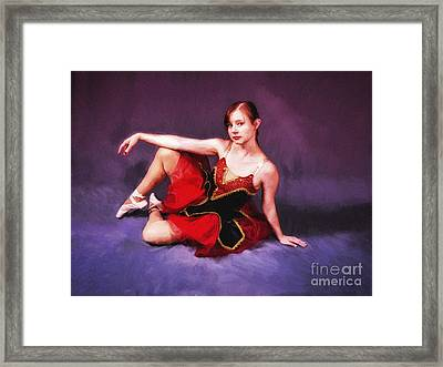 Dancer No. 6  ... Framed Print