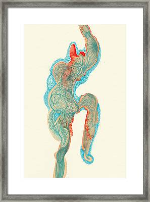 Dancer- #ss14dw023 Framed Print by Satomi Sugimoto