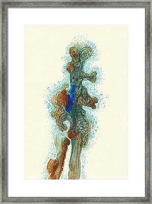Dancer- #ss14dw030 Framed Print by Satomi Sugimoto
