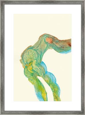 Dancer- #ss14dw039 Framed Print by Satomi Sugimoto