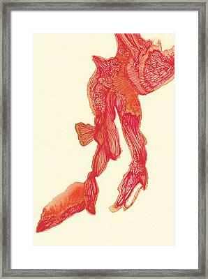 Dancer - #ss14dw041 Framed Print by Satomi Sugimoto