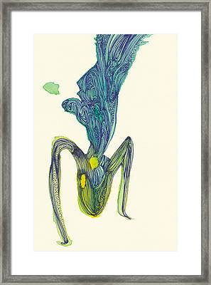 Dancer - #ss14dw045 Framed Print by Satomi Sugimoto