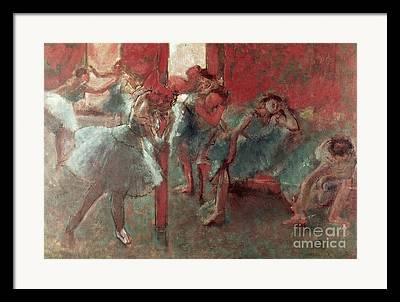 Behind The Scenes Paintings Framed Prints