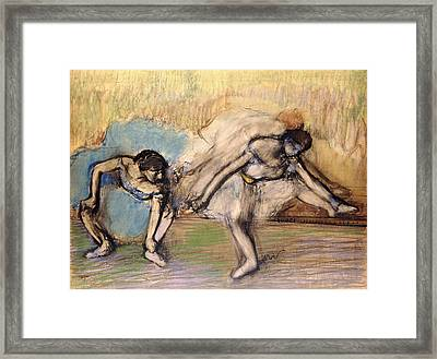 Dancers At Rest Framed Print