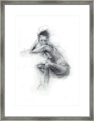 Dancer's Gaze Framed Print by Christopher Williams