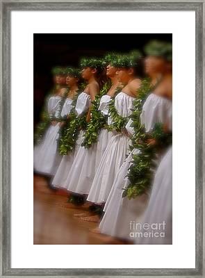 Dancers II Framed Print by Louise Fahy