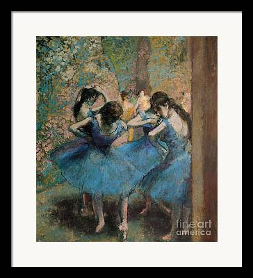 Ballet Tutus Framed Prints