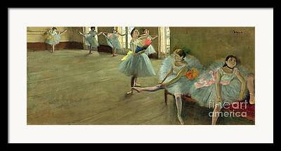 Dance Class Framed Prints