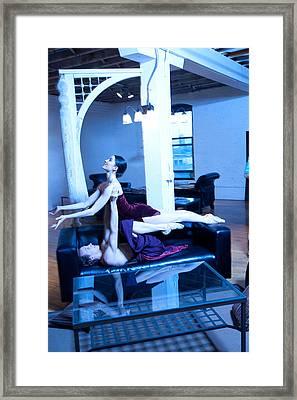 Dancers Framed Print by Michael Furlow