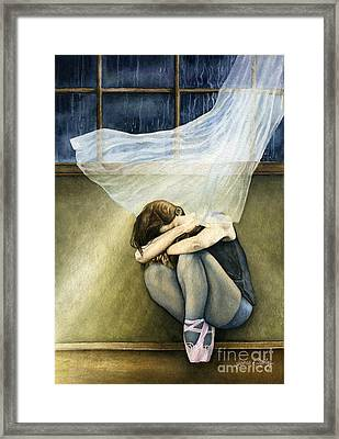 Dancer's Rest Framed Print by James Stanley