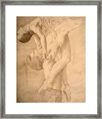 Dancers Framed Print by Sarabeth Kett