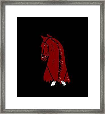 Dancin Framed Print by Carole Boyd