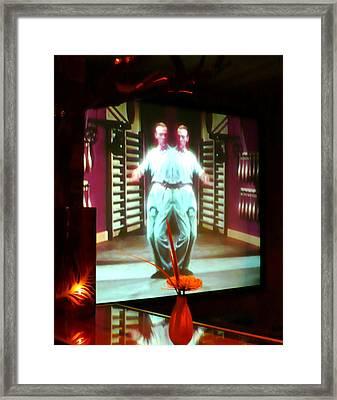 Dancing Alone Framed Print by James Mancini Heath