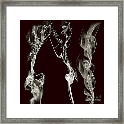 Dancing Apparitions Framed Print