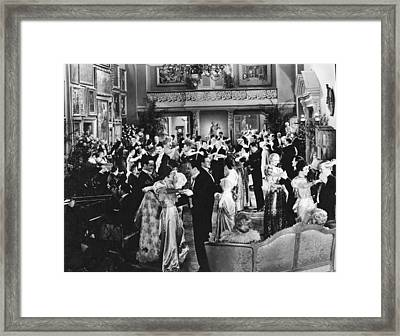 Dancing At A Formal Party Framed Print by Underwood Archives