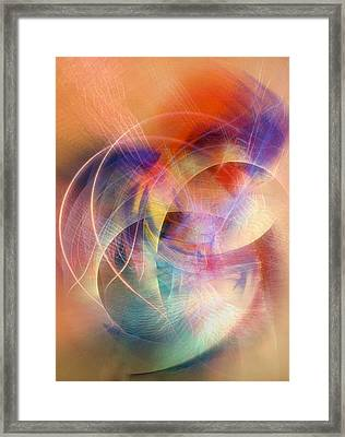 Dancing At The Edge Of Time Framed Print