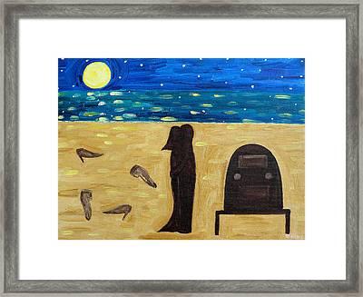 Dancing Barefoot Framed Print