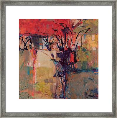 Dancing By Myself Framed Print by Chris Monette Appleton