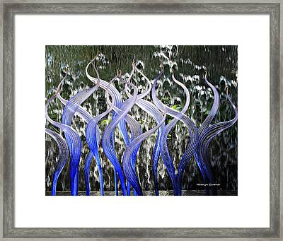 Dancing Chihuly  Framed Print