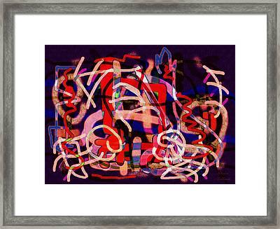 Dancing Colors Framed Print by Natalie Holland