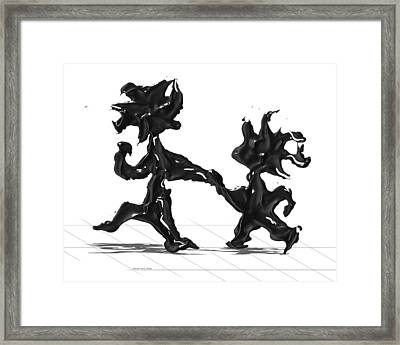 Dancing Couple 6 Framed Print