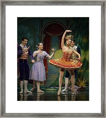 Dancing Doll Framed Print