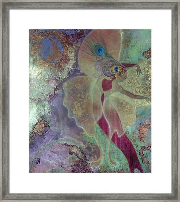 Dancing Fairy Framed Print by Ragen Mendenhall