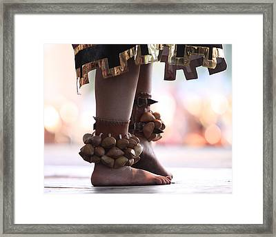 Dancing Feet Framed Print