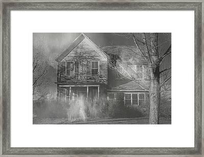 Dancing Ghosts Framed Print