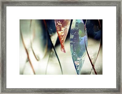 Dancing Glass Framed Print