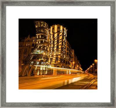 Dancing House Framed Print
