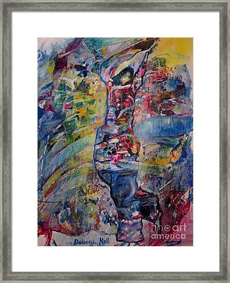 Dancing In The Glory Framed Print