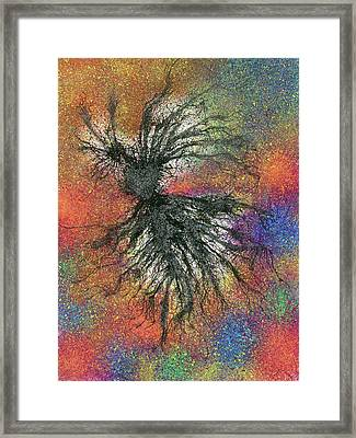 Dancing In The Starburst Galaxy #621 Framed Print