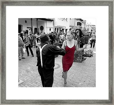 Dancing In The Street  2 Framed Print