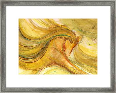 Dancing In The Sunshine Framed Print