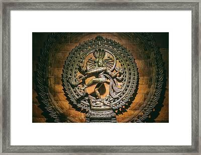 Nataraja - Dancing Shiva Framed Print