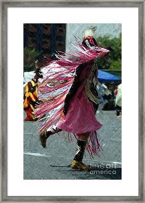 Dancing Framed Print by Kathleen Struckle